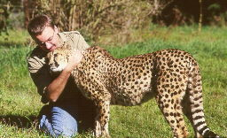 Me with cheetah